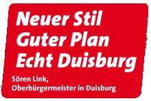 Sören Link Oberbürgermeister von Duisburg